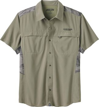 Men's Open Water Short Sleeve Button Up