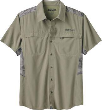 Men's Open Water Short Sleeve Button Up