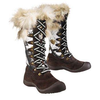 Women's Big Game Camo Arctic Snow Boots