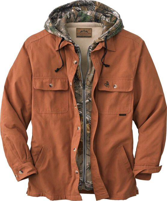 Men's Voyager Hooded Shirt Jacket