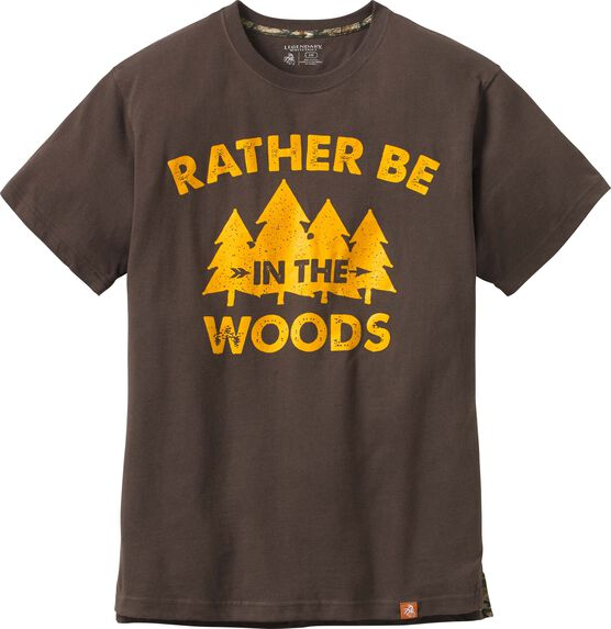 Men's Rather Be In The Woods Short Sleeve T-shirt
