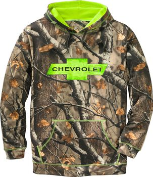 Men's Big Game Camo Mudder Hoodie