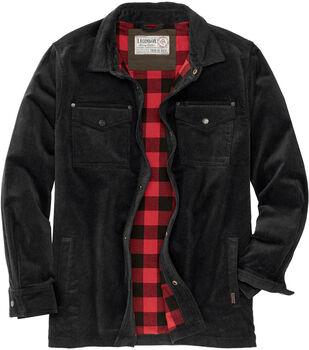 Men's Tough as Buck Flannel Lined Corduroy Shirt Jacket