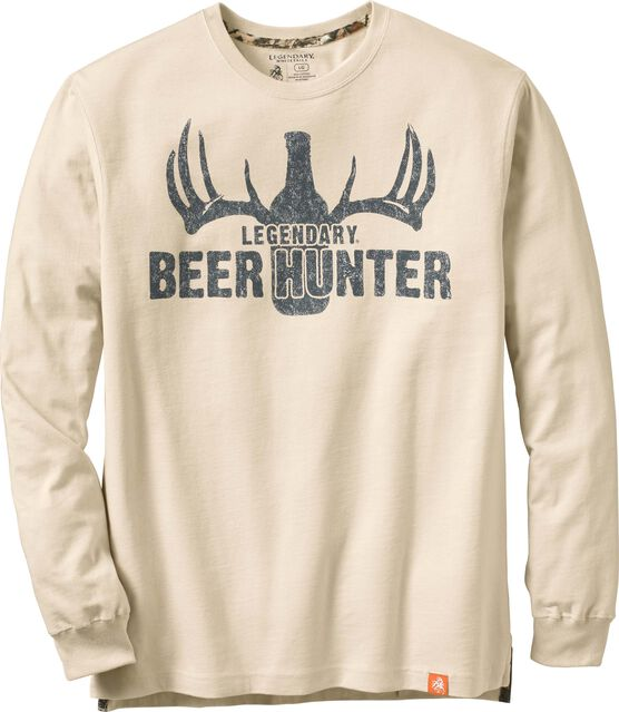 Men's Legendary Beer Hunter Long Sleeve T-shirt