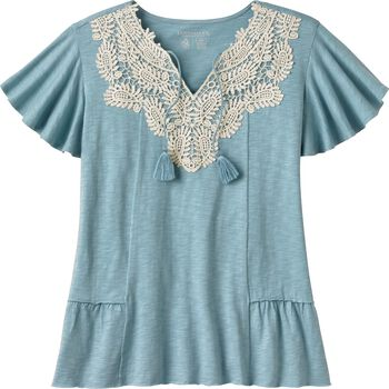 Women's Prairie Peasant Top
