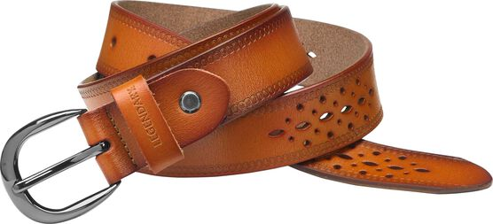 Women's Flora Leather Belt