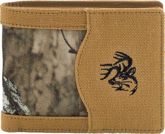 Men's High Impulse Canvas Bi-Fold Wallet