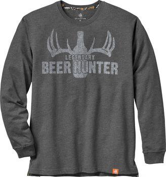 Men's Legendary Beer Hunter Long Sleeve T-shirt