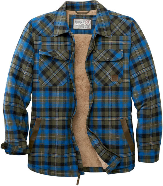 Men's Tough as Buck Berber Lined Shirt Jacket