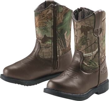Boys' Realtree Dustin Jr Cowboy Boots