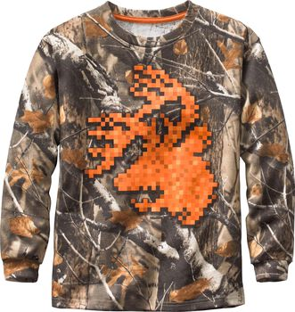 Boys' Digital Buck Long Sleeve T-Shirt