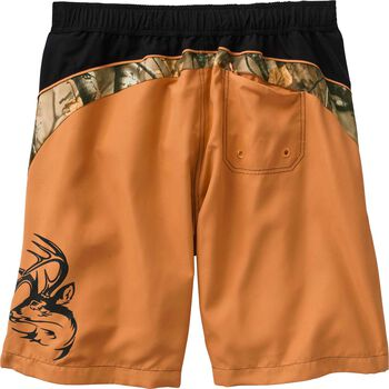 Men's Shoreline Big Game Camo Swim Trunks