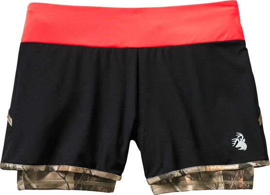 Women's Sunset Performance Camo Lined Shorts