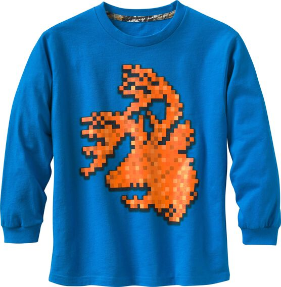 Boys' Digital Buck Long Sleeve T-Shirt