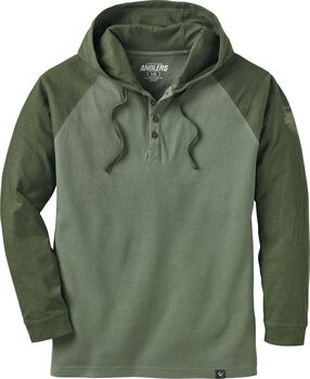 Men's Fox River Hooded Henley