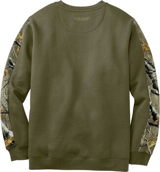 Men's Outfitter Crew Neck Fleece Sweatshirt