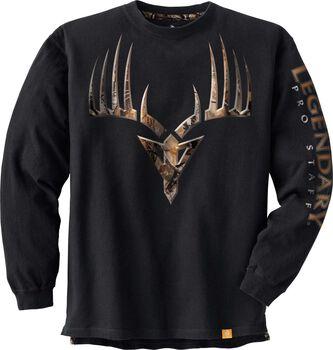 Men's Big Game Camo Broadhead Monster T-shirt