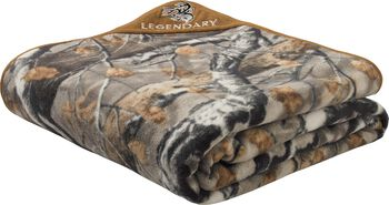 XL Big Game Camo™ Fleece Blanket