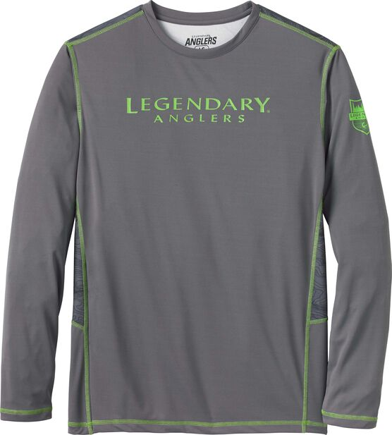 Men's Lake Series Performance Long Sleeve T-Shirt