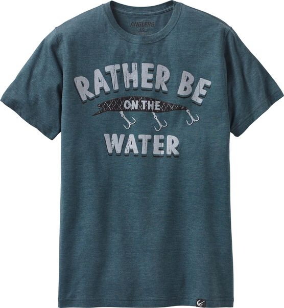 Men's Rather Be On the Water T-shirt