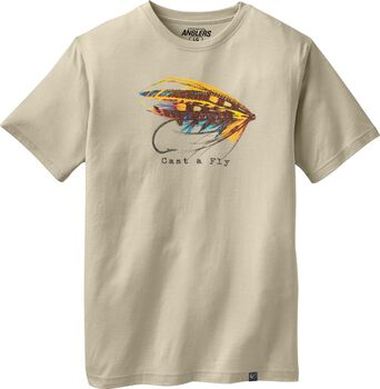 Men's Cast A Fly T-shirt
