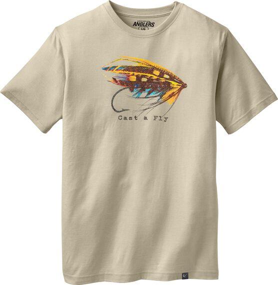 Men's Cast A Fly T-shirt