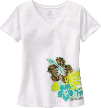 Women's Camo Oasis V-Neck T-Shirt