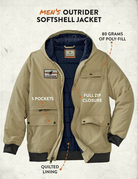 Men's Marksman Bomber Jacket