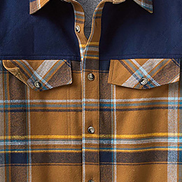 Twin Button-Flap Chest Pockets