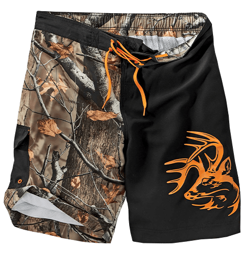 Men's Big Game Camo Swim Shorts