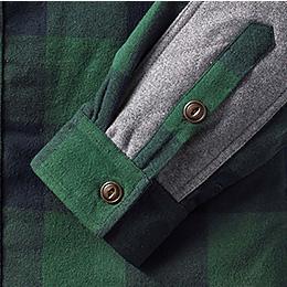 Adjustable button cuffs