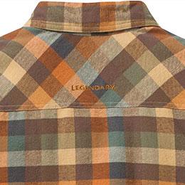 Legendary® branding on back yoke