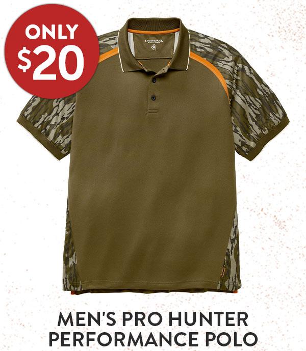 Men's Pro Hunter Performance Polo