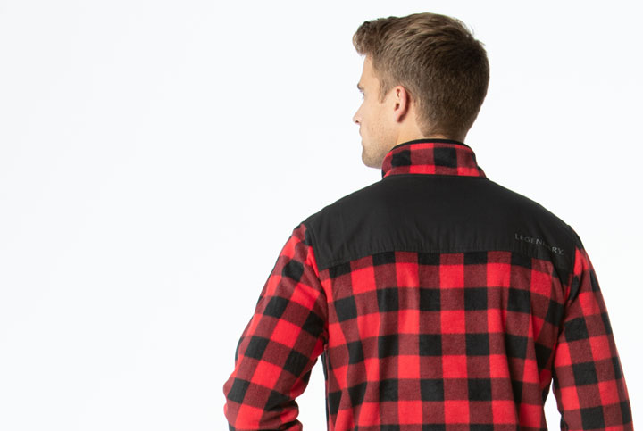 Classic Solid and Plaid Color options