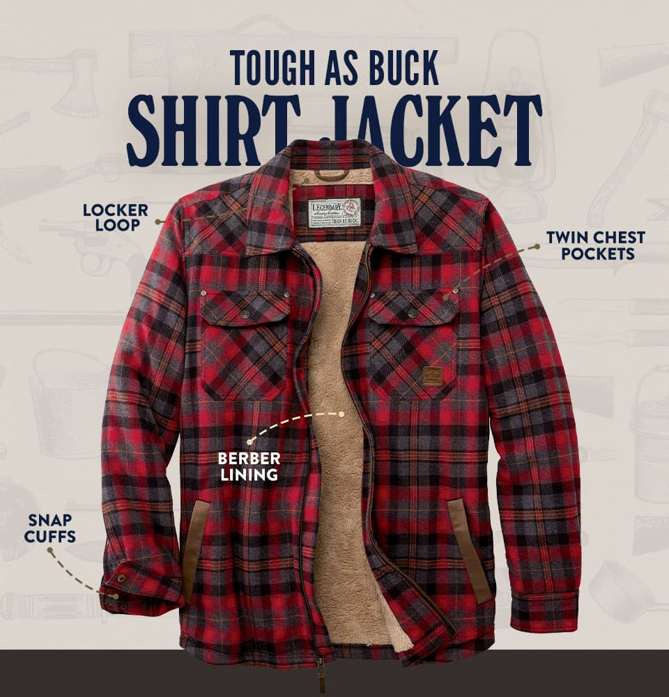 Tough As Buck Shirt Jacket