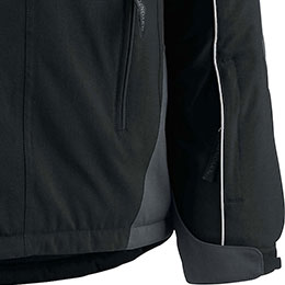 Convenient left sleeve pocket