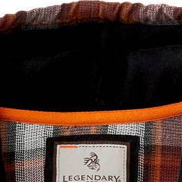 Jersey lined hood