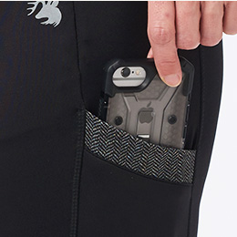 Two Convenient Side Pockets