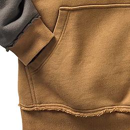 Kangaroo pocket with Legendary® accents