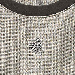 Embroidered Signature Buck logo