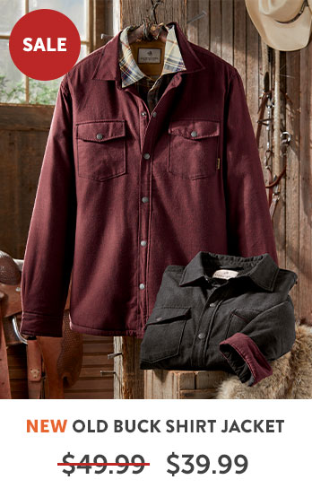 Old Buck Shirt Jacket