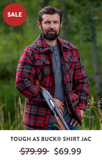 Tough As Buck® Shirt Jacket