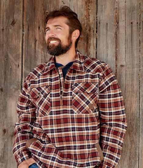 Tough As Buck Berber Lined Shirt Jacket