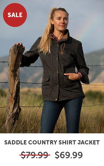 Saddle Country Shirt Jacket