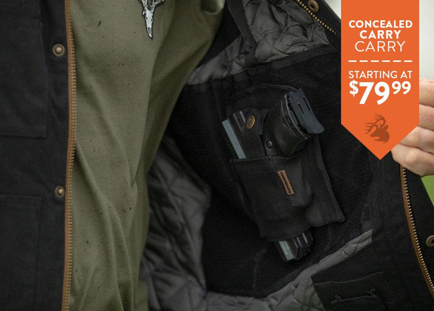 Men's Concealed Carry Cross Trail Vest