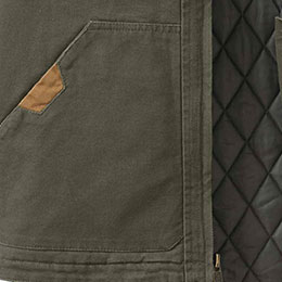 Dual snap-closure side pockets
