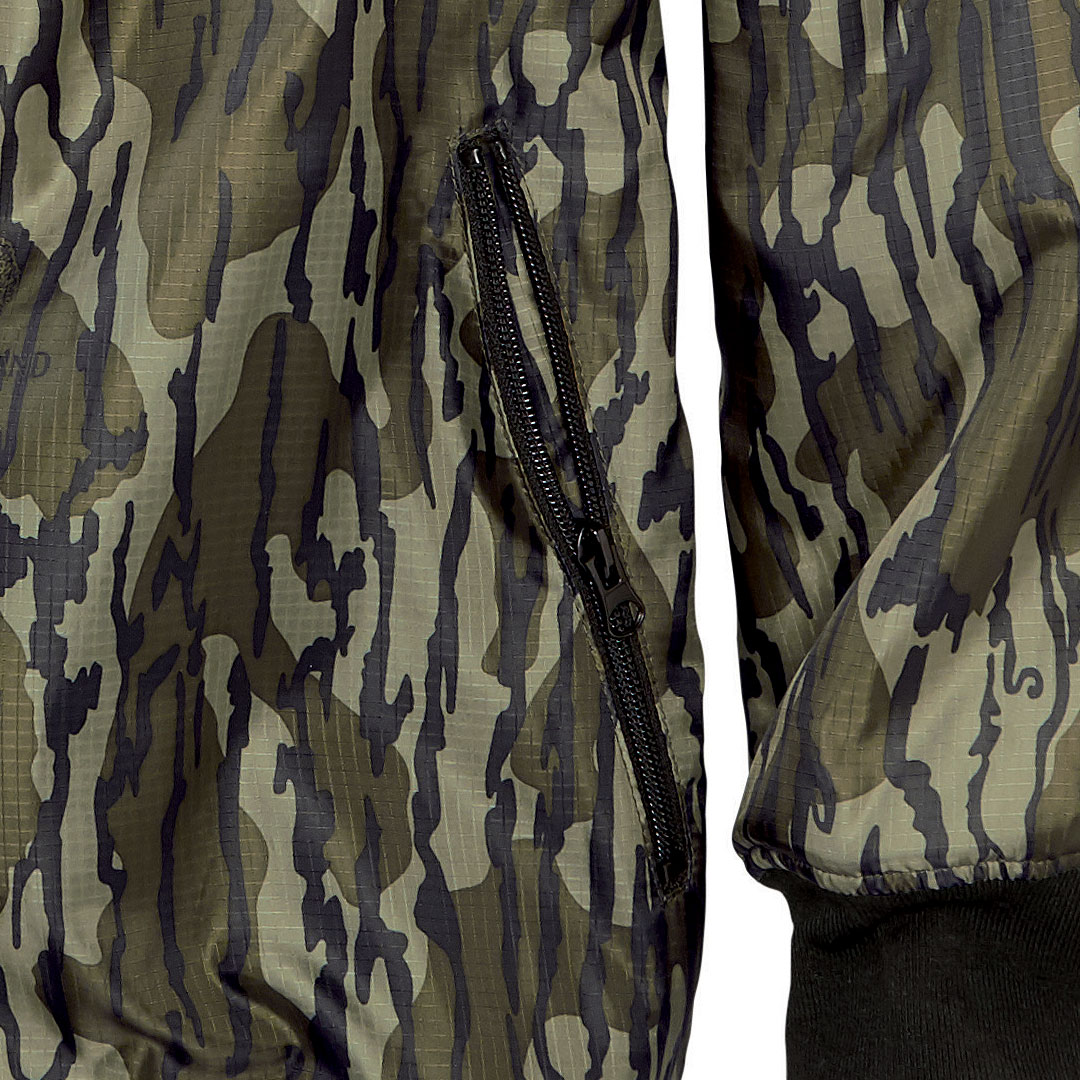 Two Zip Up Hand-Warming Pockets