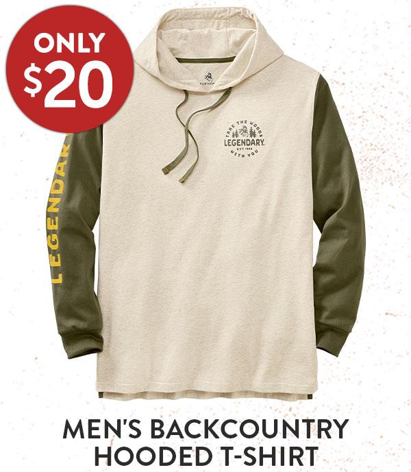 Men's Backcountry Hooded T-Shirt