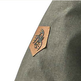 Legendary® Siganture Buck woven label
