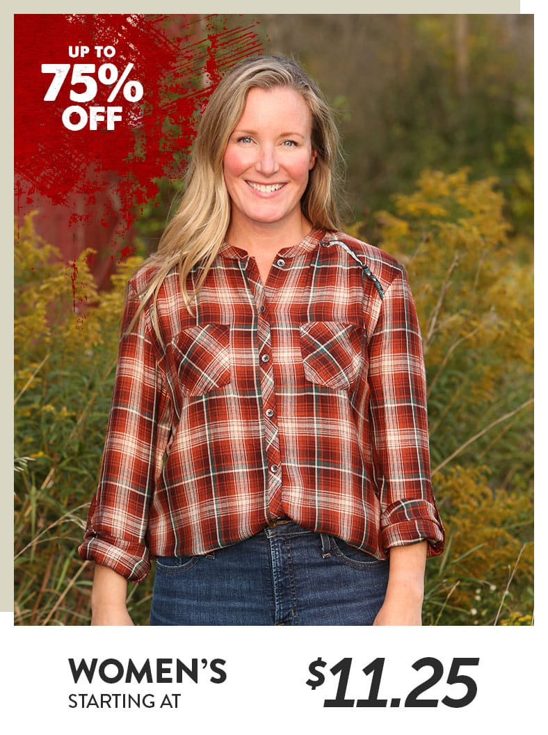 Women's Breezy Plaid Shirt
